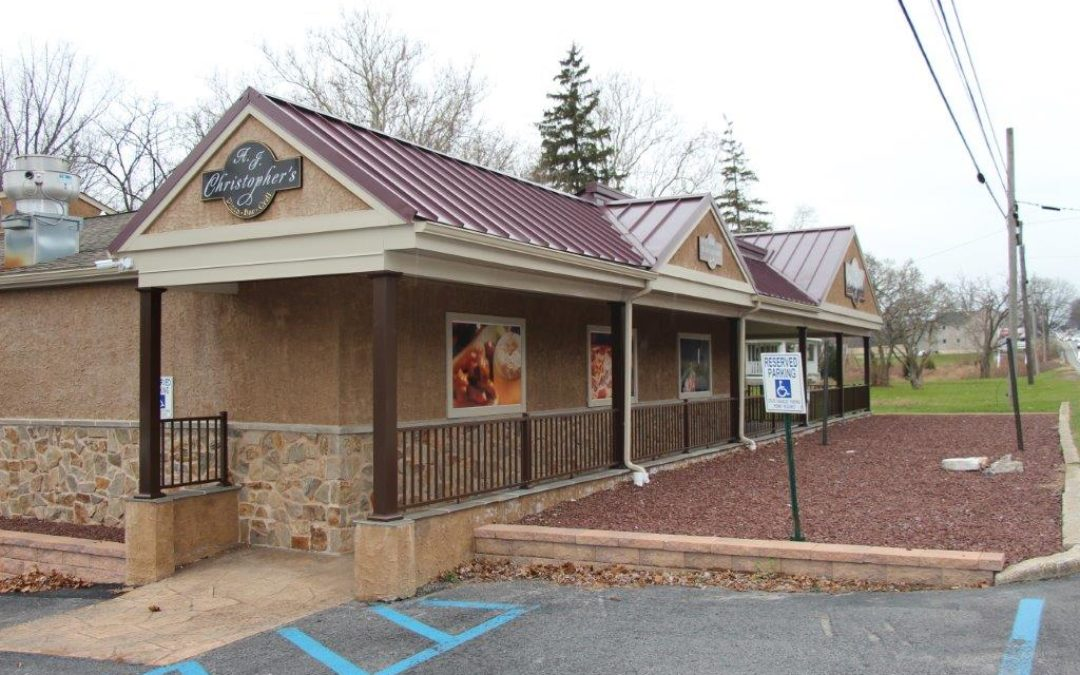 Chester County – Former Restaurant with R Liquor License